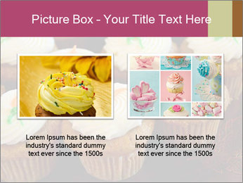 Cute Cupcakes PowerPoint Templates - Slide 18