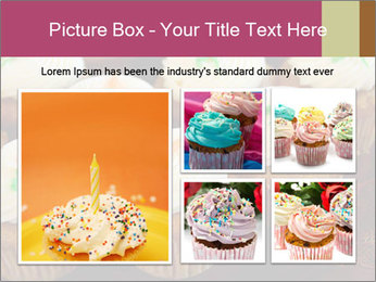 Cute Cupcakes PowerPoint Templates - Slide 19
