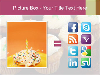 Cute Cupcakes PowerPoint Templates - Slide 21