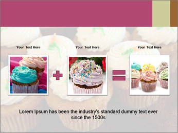 Cute Cupcakes PowerPoint Templates - Slide 22