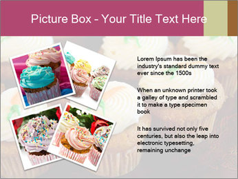 Cute Cupcakes PowerPoint Templates - Slide 23