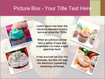 Cute Cupcakes PowerPoint Templates - Slide 24