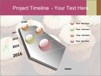 Cute Cupcakes PowerPoint Templates - Slide 26