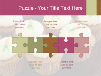 Cute Cupcakes PowerPoint Templates - Slide 41