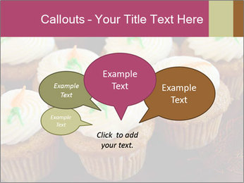 Cute Cupcakes PowerPoint Templates - Slide 73