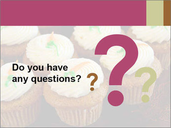 Cute Cupcakes PowerPoint Templates - Slide 96