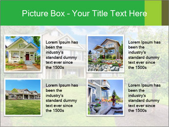 House For Rent PowerPoint Templates - Slide 14