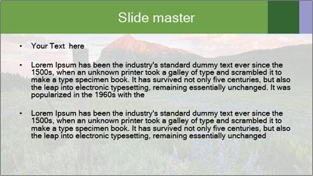 Beautiful Washington Gulch PowerPoint Template - Slide 2