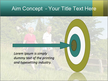 Sporty Retired Couple PowerPoint Template - Slide 83