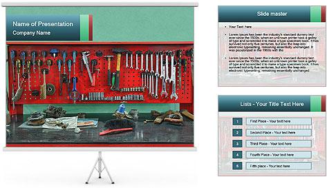 Hardware Box PowerPoint Template
