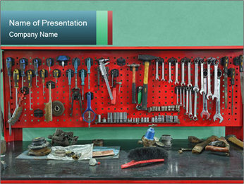 Hardware Box PowerPoint Templates - Slide 1