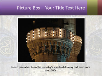 Church Ceiling PowerPoint Template - Slide 16
