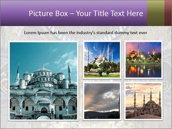 Church Ceiling PowerPoint Templates - Slide 19