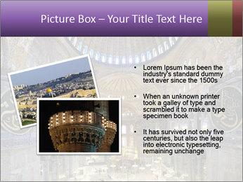 Church Ceiling PowerPoint Templates - Slide 20