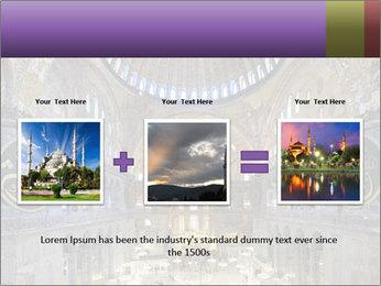 Church Ceiling PowerPoint Templates - Slide 22