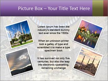 Church Ceiling PowerPoint Templates - Slide 24
