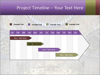 Church Ceiling PowerPoint Templates - Slide 25