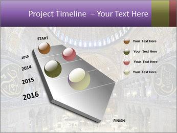 Church Ceiling PowerPoint Templates - Slide 26
