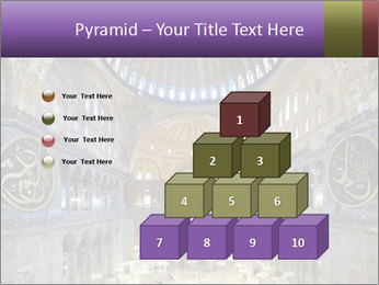 Church Ceiling PowerPoint Templates - Slide 31