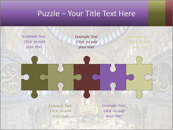 Church Ceiling PowerPoint Templates - Slide 41