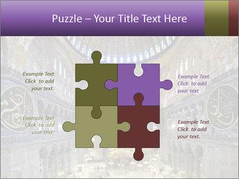 Church Ceiling PowerPoint Templates - Slide 43
