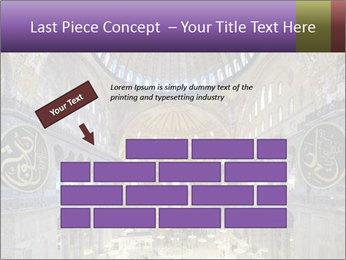 Church Ceiling PowerPoint Templates - Slide 46