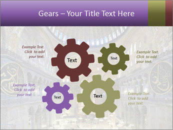 Church Ceiling PowerPoint Templates - Slide 47