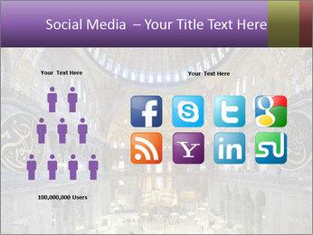 Church Ceiling PowerPoint Templates - Slide 5