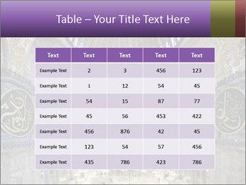 Church Ceiling PowerPoint Templates - Slide 55