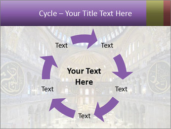 Church Ceiling PowerPoint Templates - Slide 62