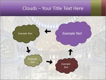 Church Ceiling PowerPoint Templates - Slide 72