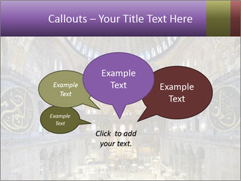 Church Ceiling PowerPoint Templates - Slide 73