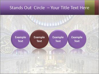 Church Ceiling PowerPoint Templates - Slide 76