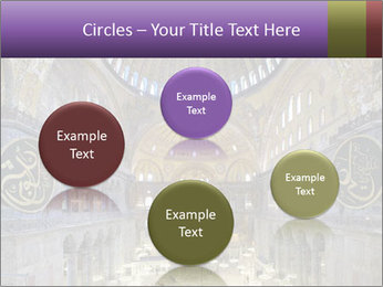 Church Ceiling PowerPoint Templates - Slide 77