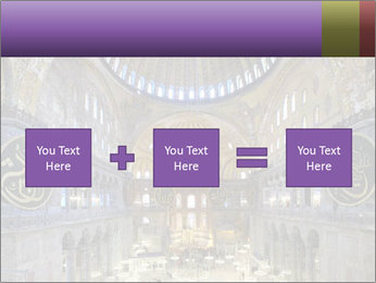 Church Ceiling PowerPoint Template - Slide 95