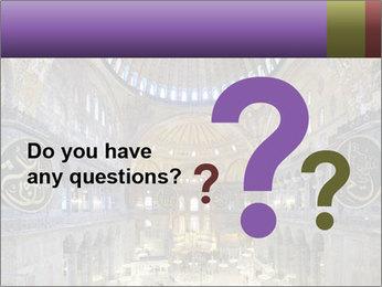 Church Ceiling PowerPoint Templates - Slide 96