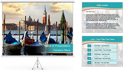 Romantic Coast PowerPoint Template