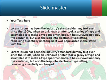 Christmas Jumpers PowerPoint Template - Slide 2