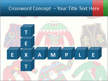 Christmas Jumpers PowerPoint Templates - Slide 82