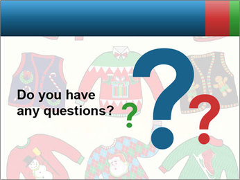 Christmas Jumpers PowerPoint Templates - Slide 96