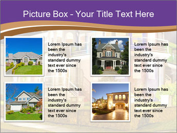 Glass Cottage PowerPoint Template - Slide 14