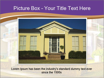 Glass Cottage PowerPoint Template - Slide 15