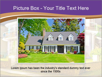 Glass Cottage PowerPoint Template - Slide 16
