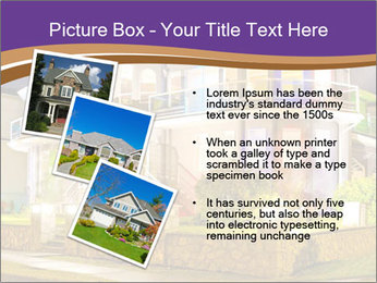 Glass Cottage PowerPoint Template - Slide 17