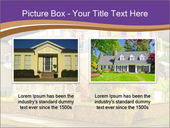 Glass Cottage PowerPoint Template - Slide 18