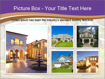 Glass Cottage PowerPoint Template - Slide 19