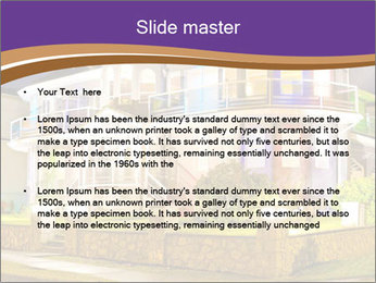 Glass Cottage PowerPoint Template - Slide 2