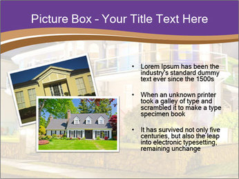 Glass Cottage PowerPoint Template - Slide 20