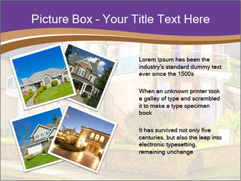 Glass Cottage PowerPoint Template - Slide 23