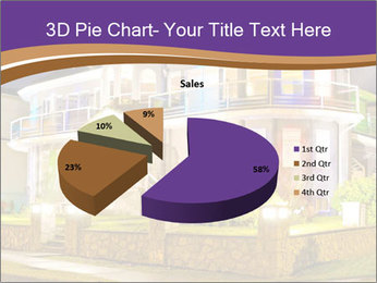 Glass Cottage PowerPoint Template - Slide 35